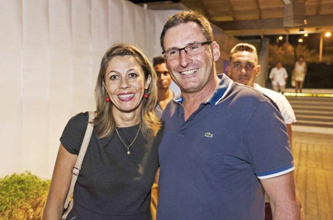 M.  Chesneau, gérant de l'entreprise Chesneau et son épouse