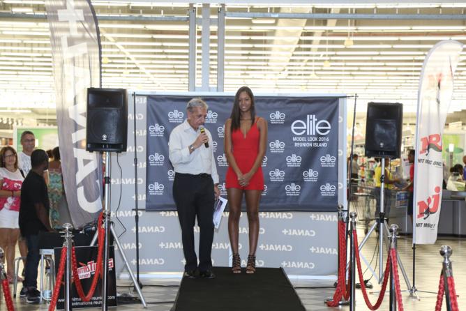 Casting Elite Model Look Reunion Island 2016 à Saint-Pierre