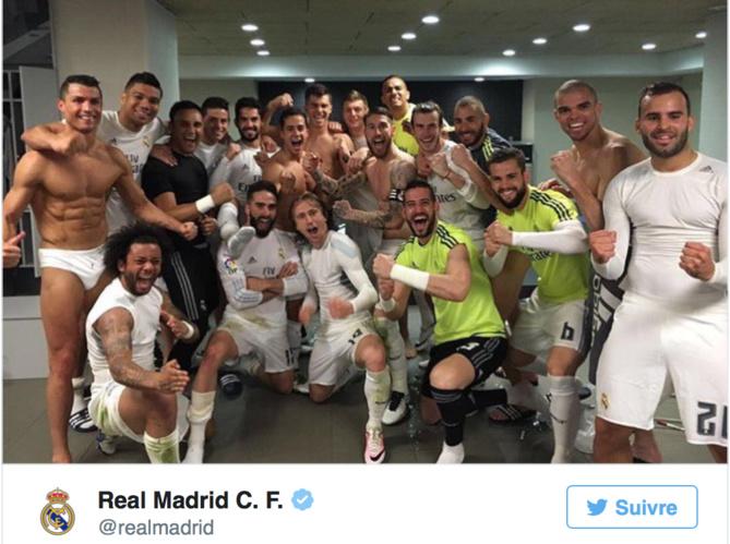 Photo postée sur le compte Twitter du club espagnol