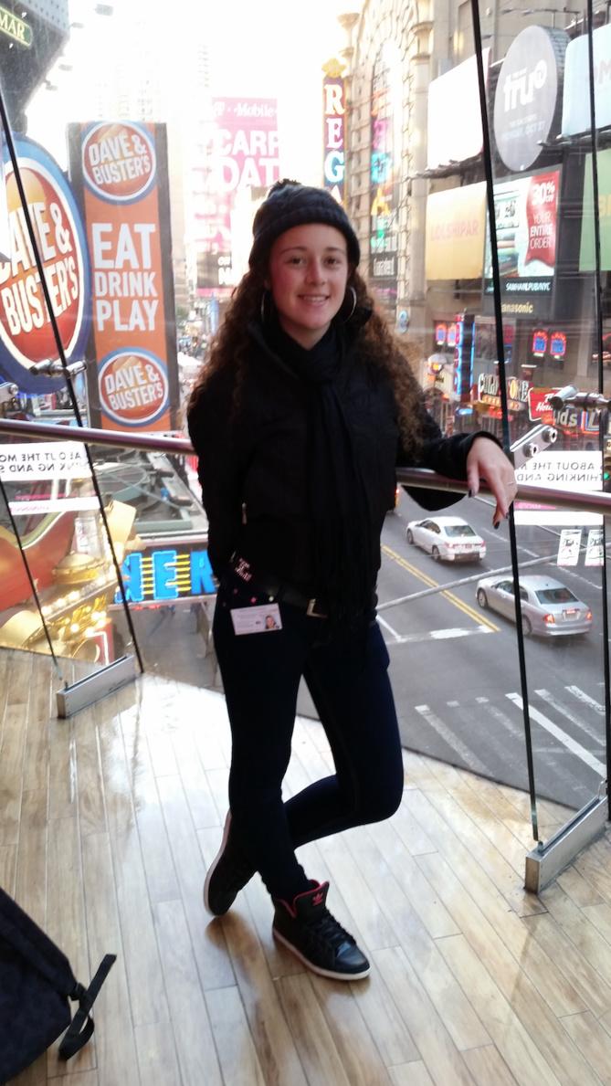 Elle était en vacances à New York: «New York, c'est un film toute la journée!» dit Coralie
