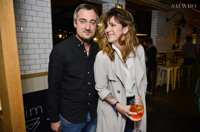 Sebastien Thoen et Daphné Burki