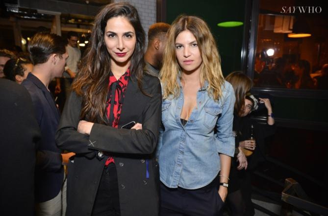 Sophie Laban et Isabelle Funaro