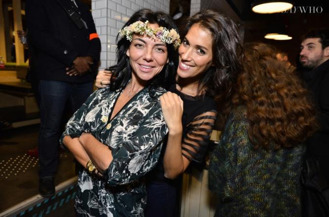 Sandra Zeitoun et Laurie Cholewa