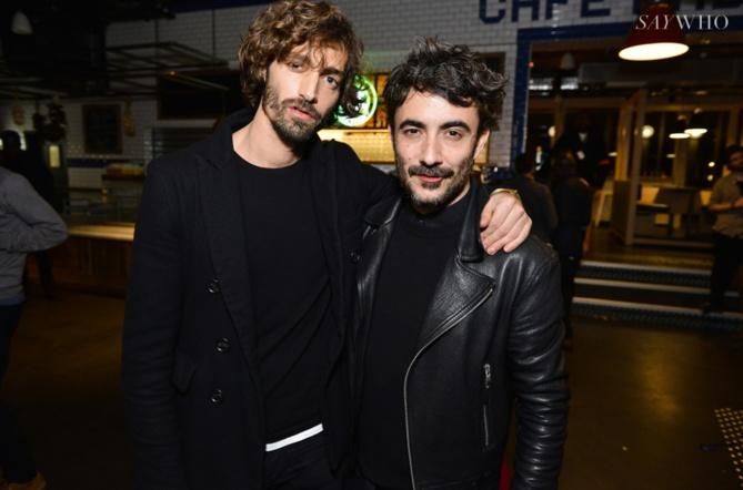 Maximiliano Patane et Benoit Ponsaillé