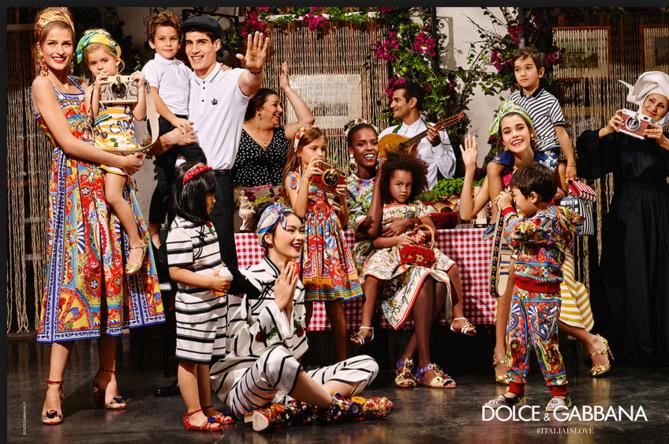Pauline Hoarau star de la campagne Dolce & Gabbana