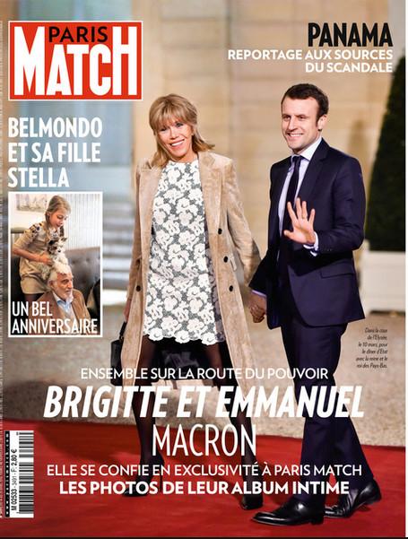 Madame Macron regrette la couverture de Paris Match