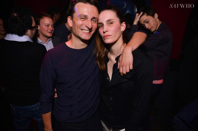 Eric Chevallier et Marie Marot