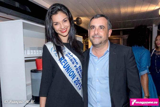 Azuima Issa et Olivier Bajard, directeur général de la SHLMR