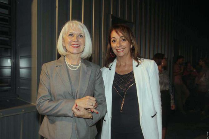 Isabelle Lemarchand, Proviseure du Lycée Roland Garros, et Christine Bosc, chargée de mission au lycée