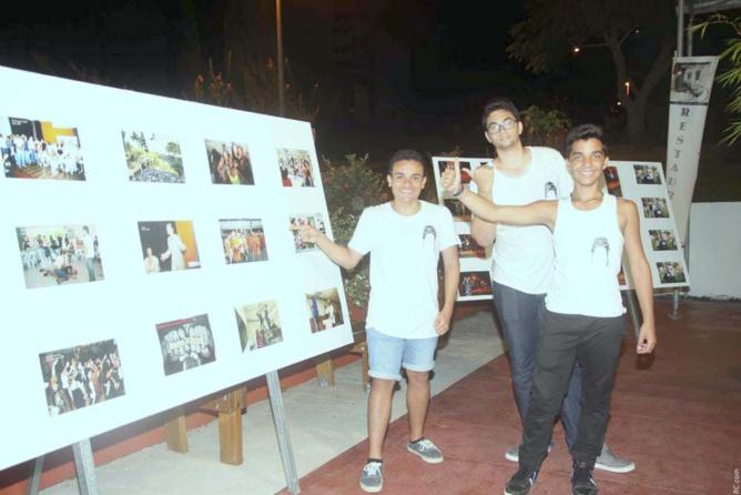 """Les élèves internes et leur expo photographique:  """"Je suis Roland Garros"""""""