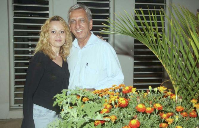 Jeanne Poudroux, de l'antenne Sud de la Région, et Aziz Patel