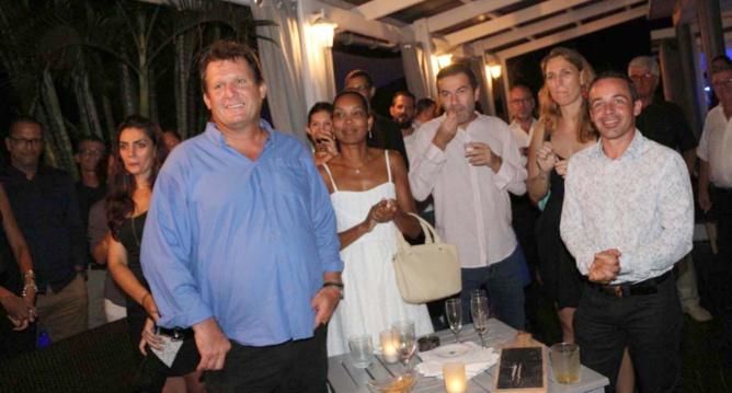 David Diguda, gérant société VSF, et des invités