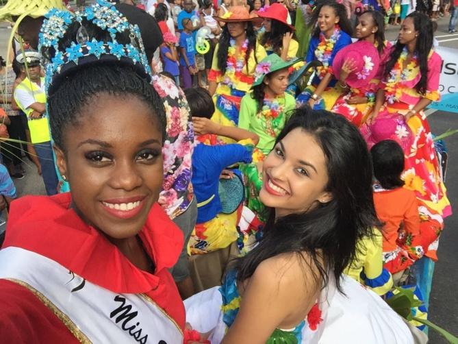 Les deux Miss ont eu beaucoup de succès