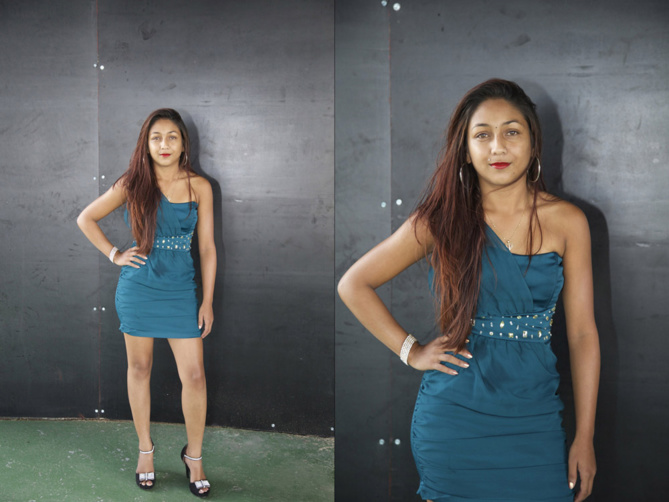 N°1 -  Evelyne Abélard - 21 ans, 1,57m