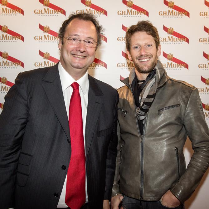 César Giron et Romain Grosjean
