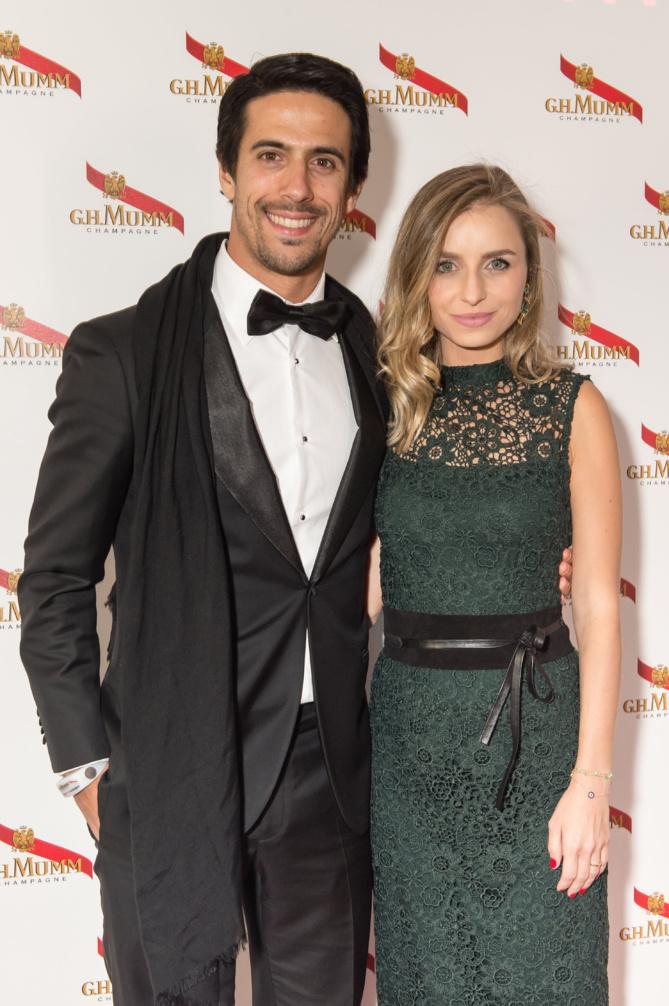 Lucas Di Grassi et sa compagne