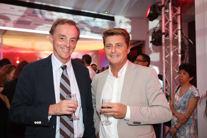 Christophe Ducasse et Olivier Ronin