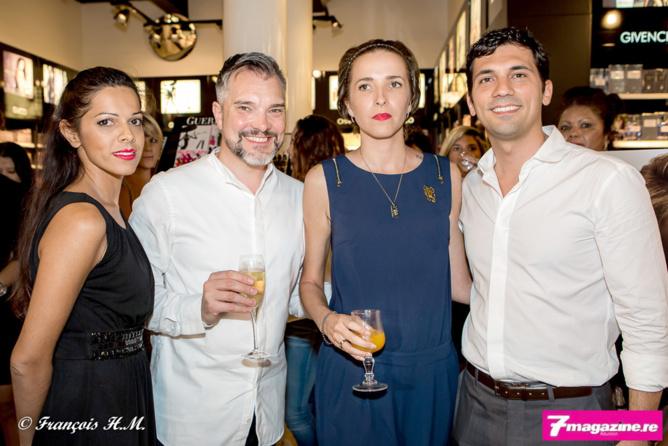 Asma Ingar, José Luis Yuve, et Julien Fagoaga