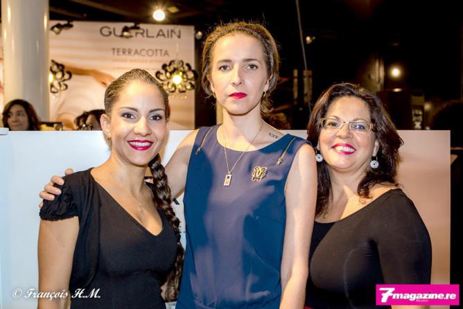 Les conseillères de chez Mado avec la responsable Guerlain