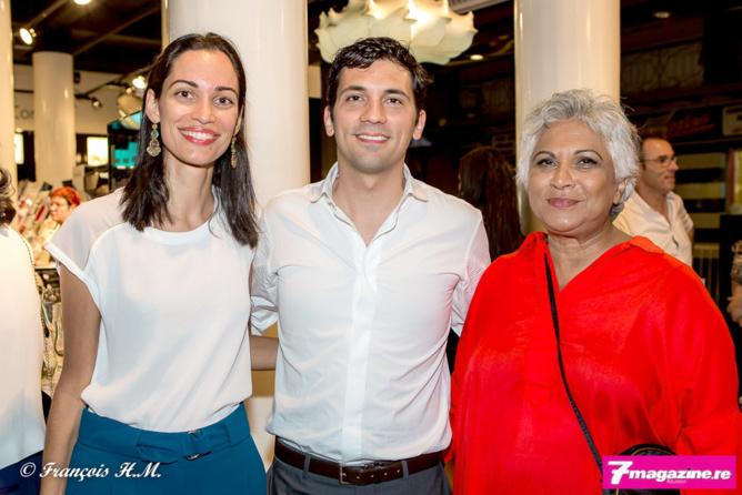 Nahema David de K2R, Julien Fagoaga et la maman de Nahema