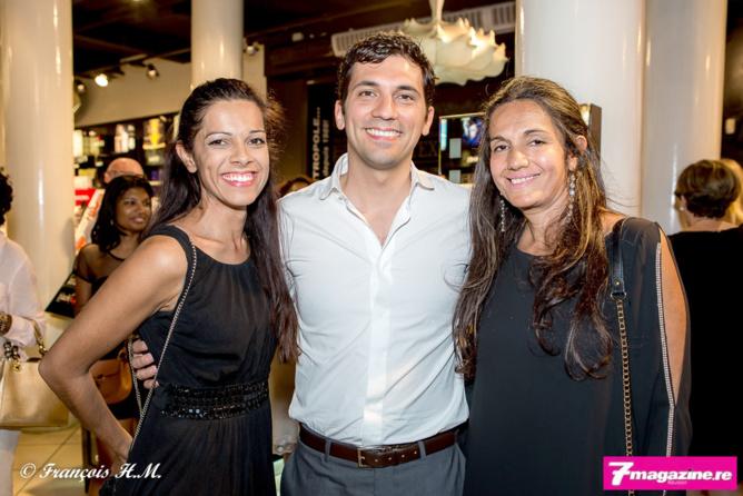 Asma Ingar, Julien Fagoaga et Mumtaz Ingar