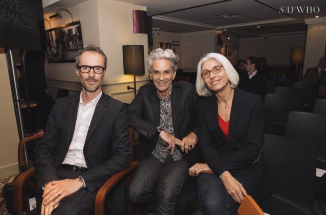 Michel Rebichon avec des invités