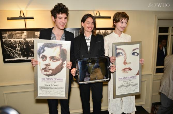 Les lauréats 2016: Vincent Lacoste, Marie Gillain et Lou de Lââge