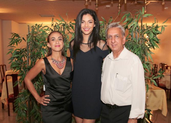 Elodie qui représentait la boutique Dark Revelation, Azuima Issa et Aziz Patel