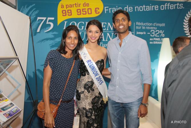 Avec Anne-Laure et Sanjay