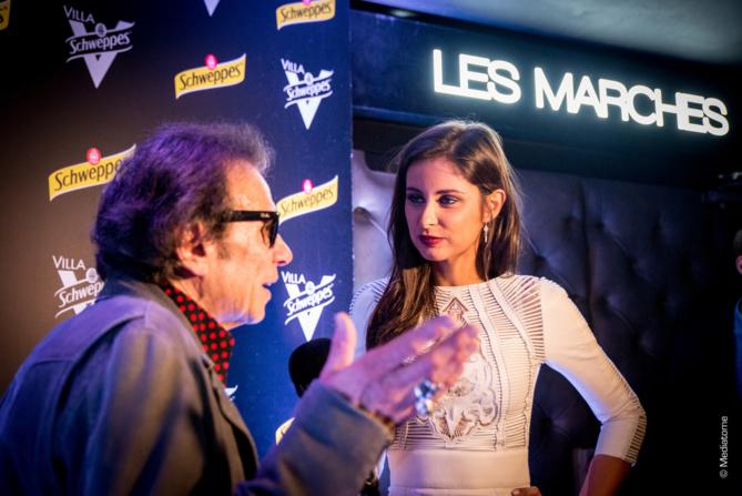 Philippe Manoeuvre et Malika Ménard