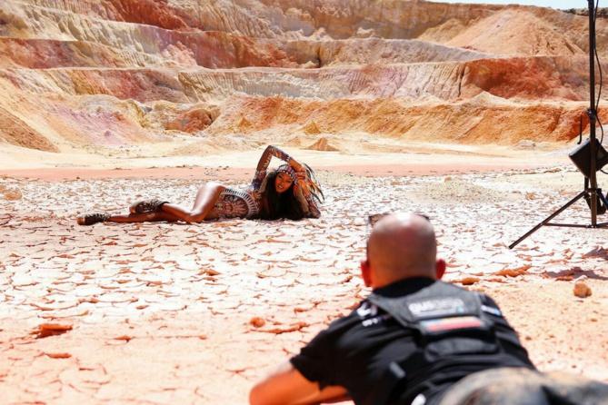 Séverine Savigny: une superbe Réunionnaise dans la mine