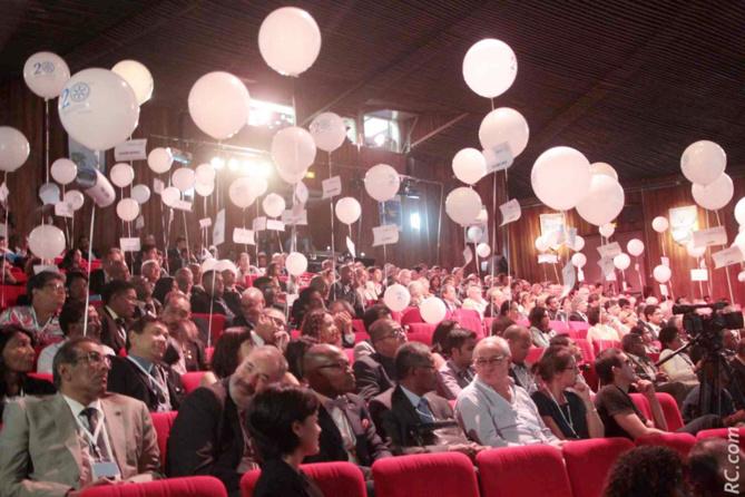 Le Théâtre Luc Donat du Tampon a accueilli la conférence du District 9220 du Rotary