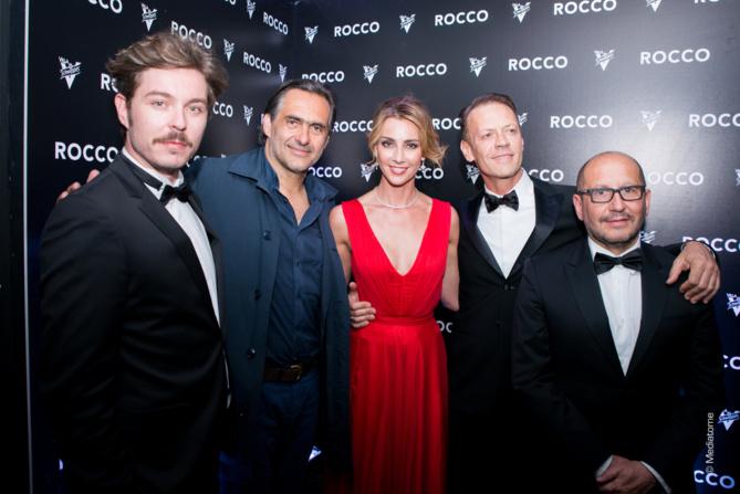 Alban Teurlai, Emmanuel Chain, Rosa Carcciolo, Rocco Siffredi et Thierry Demaizière