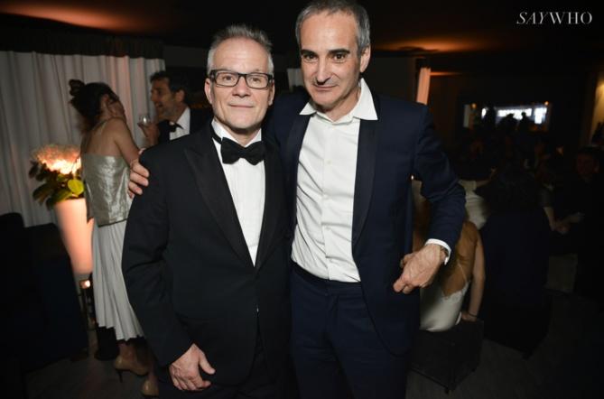 Thierry Fremaux et Olivier Assayas