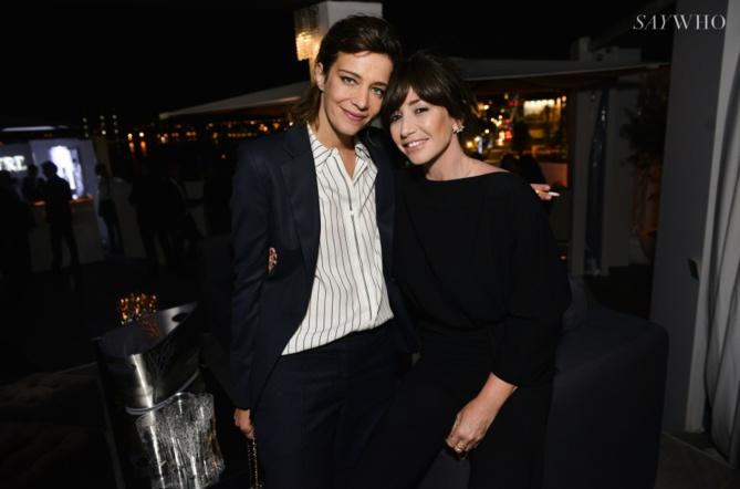 Céline Sallette et Albane Cleret