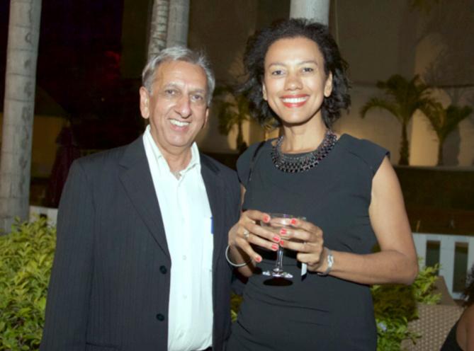 Aziz Patel et Isabelle Gazania-Haas, directrice de l'agence de communication métropolitaine Made in VO