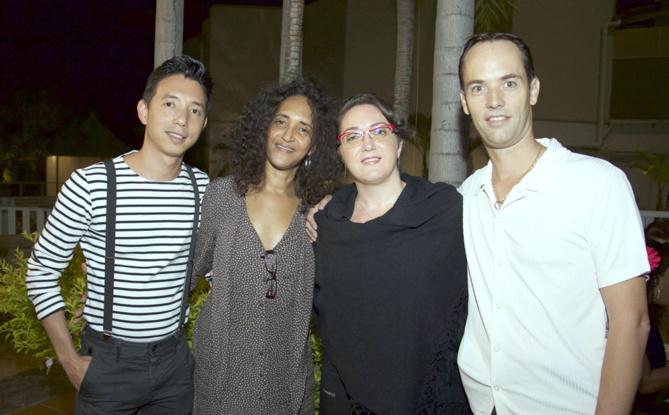 Patricia Fortuné et ses amis