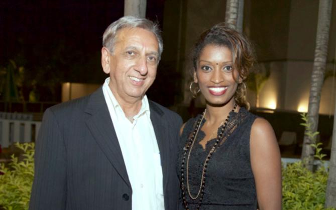 Aziz Patel et Annie-Rose, maquilleuse