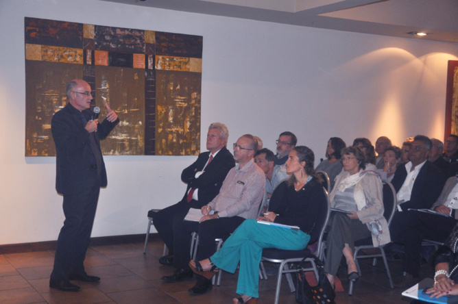Thierry Pierrat (face aux invités) , directeur régional des ventes AGR2 La Mondiale
