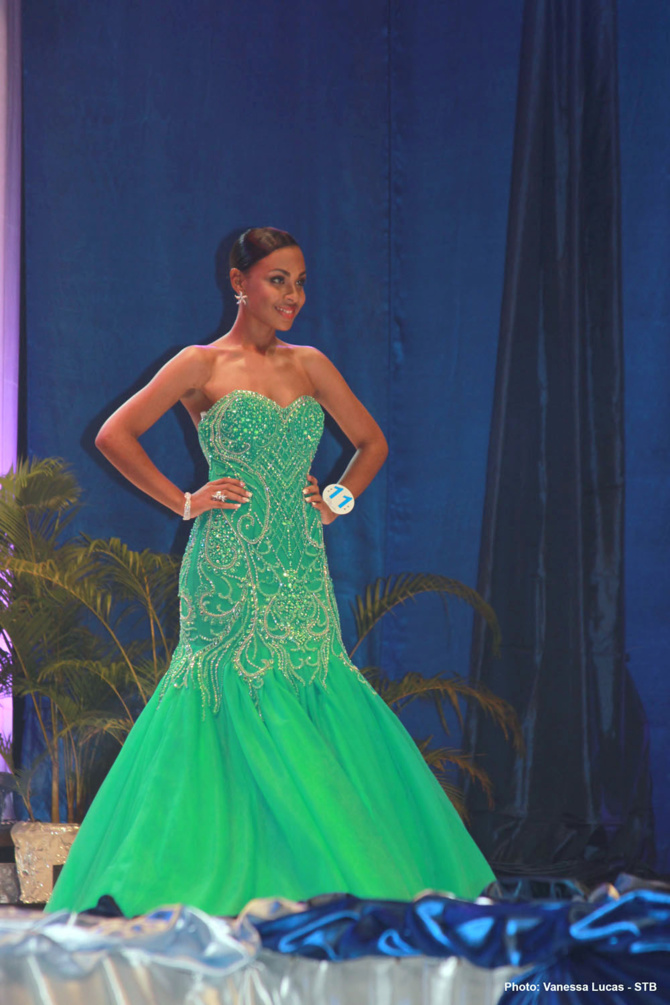 Miss Seychelles 2016<br>Christine Barbier couronnée