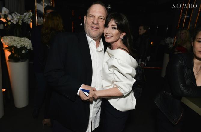 Harvey Weinstein et Albane Cléret