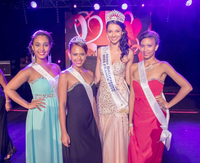 Lisa Sautron, Anaë Danton, Azuima Issa et Cory Seychelles