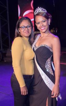 Miss Bras Panon avec sa maman