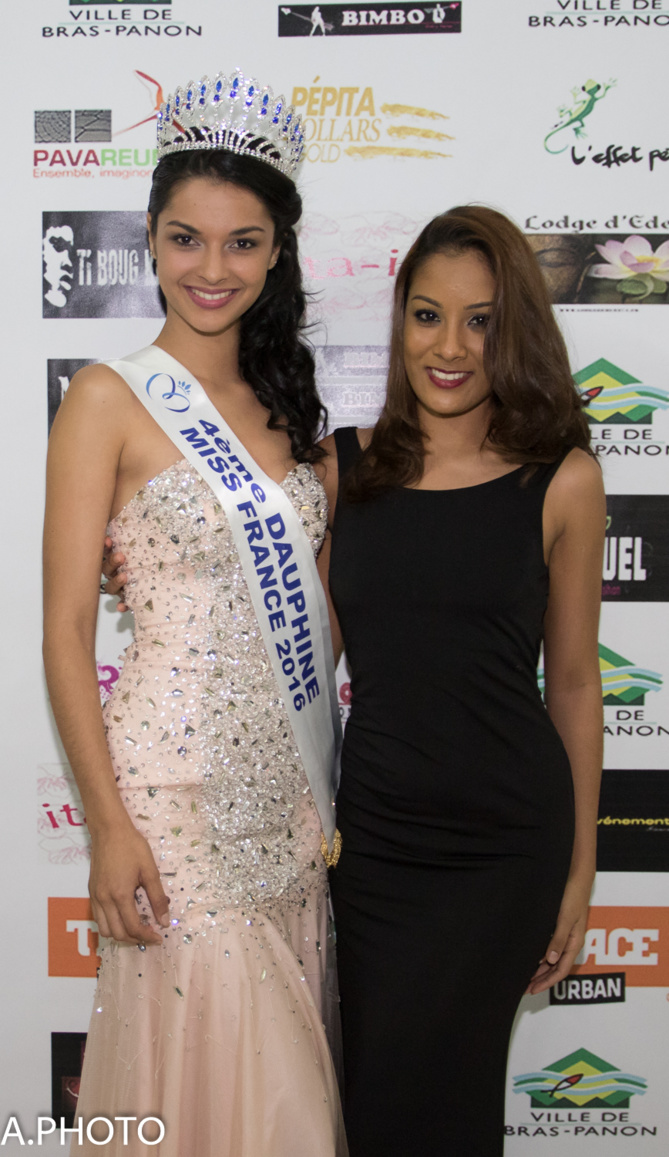 Miss Bras-Panon 2016<br>Anaé Danton couronnée