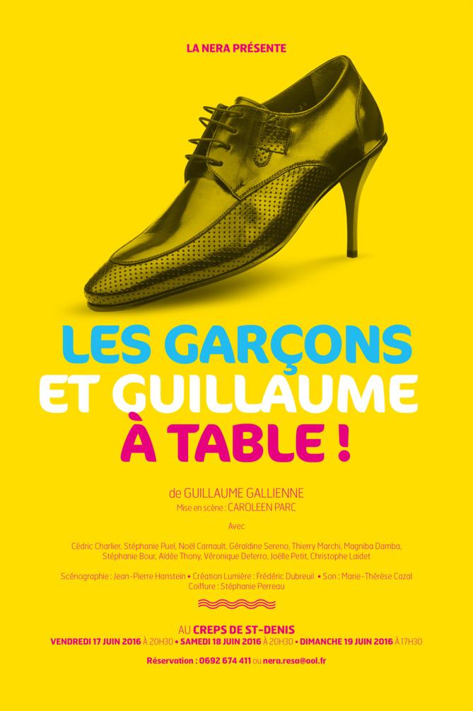 """""""Les garcons et Guillaume à table! », une pièce à voir!"""