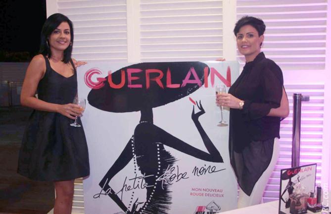 Stéphanie Hoarau et Olivia Laroque, de bien jolies invitées...