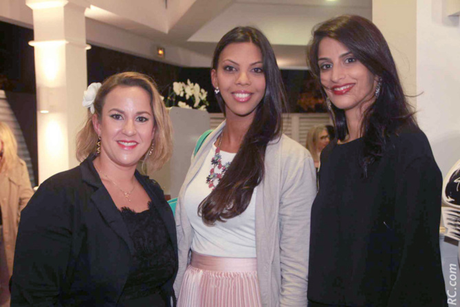Naïma Moullan, Anna Vally et Malika Locate