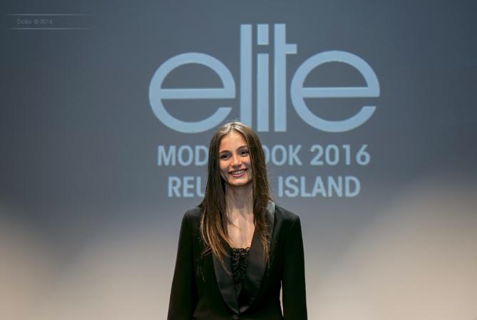 Kiara remporte la finale Elite Model Look Reunion Island 2016