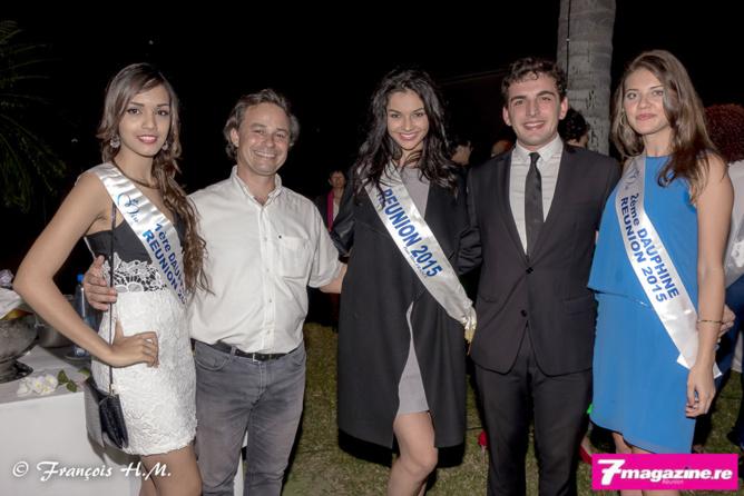 Les Miss à la soirée inaugurale Mary Pierce Indian Ocean Series