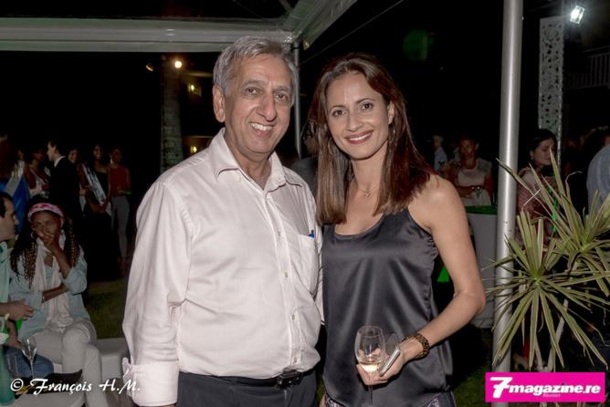 Aziz Patel et Isabelle Garsault